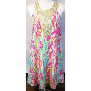 Lilly Pulitzer Dripping In Jewels Cadence Dress